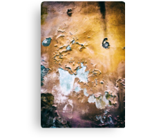 Peeling wall Canvas Print