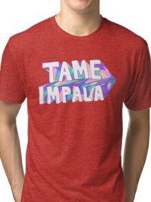 Tame Impala Purple Tri-blend T-Shirt