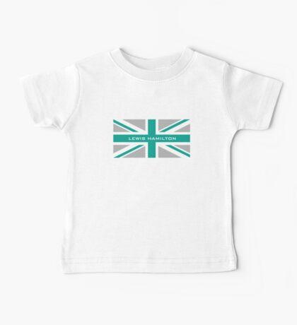 Lewis Hamilton (Team colours) Baby Tee