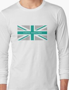 Lewis Hamilton (Team colours) Long Sleeve T-Shirt