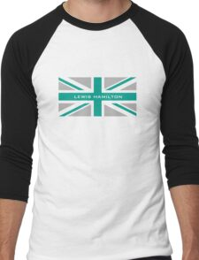 Lewis Hamilton (Team colours) Men's Baseball ¾ T-Shirt