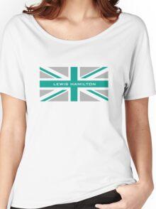 Lewis Hamilton (Team colours) Women's Relaxed Fit T-Shirt