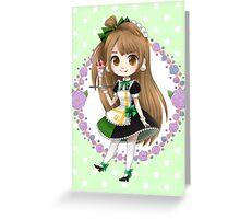 Love Live! Kotori Minami Maid Greeting Card