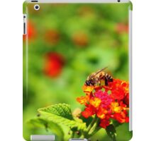 Bee Catching A Quick Snack iPad Case/Skin