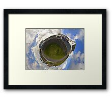 Tigh Ruairi - Inisheer Village (Sky out)  Framed Print
