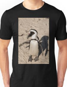 Penguin shadow boxing, South Africa Unisex T-Shirt