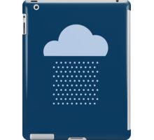We love the rain! weather, cloud, water, autumn, spring, water, raindrop  iPad Case/Skin