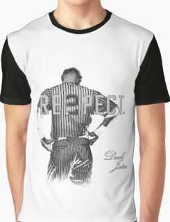 Respect Derek Jeter Graphic T-Shirt