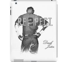 Respect Derek Jeter iPad Case/Skin