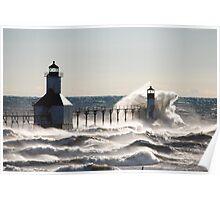 St Joseph North Pier Lighthouse - 37 Poster