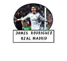 James Rodriguez (Real Madrid) Photographic Print
