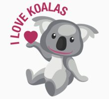I Love Koalas Kids Tee