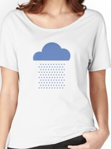 We love weather! rain, clouds, water, raindrop, spring, summer, autumn Women's Relaxed Fit T-Shirt