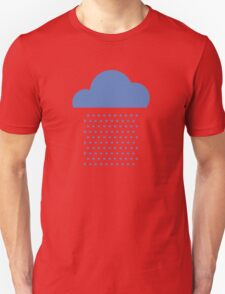 We love weather! rain, clouds, water, raindrop, spring, summer, autumn Unisex T-Shirt