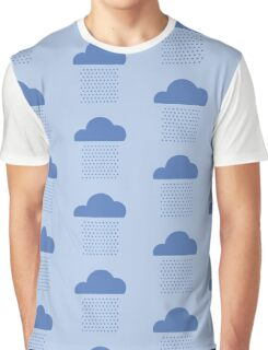 We love weather! rain, clouds, water, raindrop, spring, summer, autumn Graphic T-Shirt