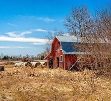 The Red Barn by PhotosByHealy