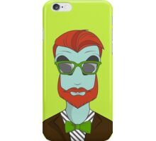 Alien hipster iPhone Case/Skin