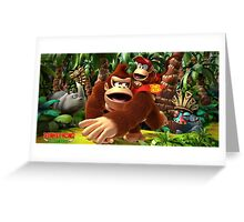 Donkey Kong Island Greeting Card