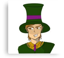 Anime style mad hatter by Danann Canvas Print