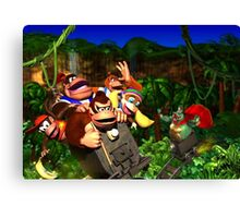 Super Donkey Kong Canvas Print