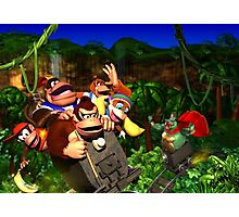 Super Donkey Kong Photographic Print