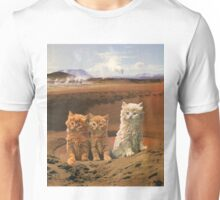 Three kittens adventure Unisex T-Shirt