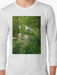 Westonbury Mill Water Garden Long Sleeve T-Shirt