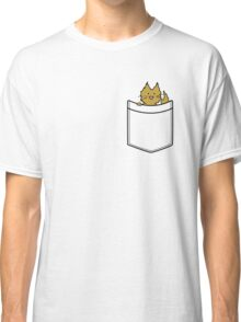 Ginger Cat in Your Pocket Classic T-Shirt