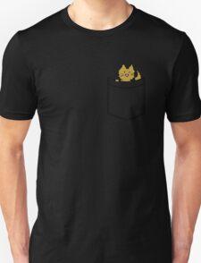 Ginger Cat in Your Pocket Unisex T-Shirt