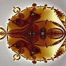 Tricorns Mandelbrot Enclosed by Mark Eggleston