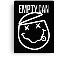 MGK Empty Can Canvas Print