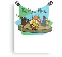 The Meow Meows - colourised version Metal Print
