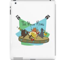 The Meow Meows - colourised version iPad Case/Skin