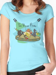 The Meow Meows - colourised version Women's Fitted Scoop T-Shirt