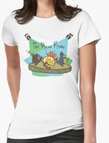 The Meow Meows - colourised version Womens Fitted T-Shirt