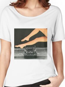 A Day At The Seaside Women's Relaxed Fit T-Shirt
