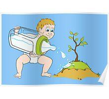 Nurture Nature Poster