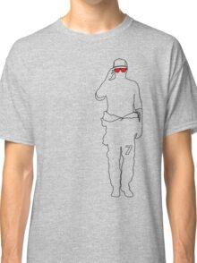 Kimi 7 - Sunglasses (Red) Classic T-Shirt