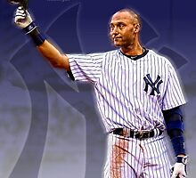 "Derek Jeter ""RE2PECT"" by Firststringgfx"