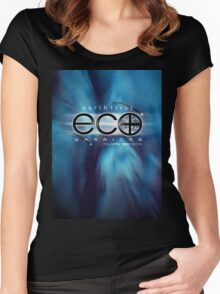 eco warriors 3 Women's Fitted Scoop T-Shirt