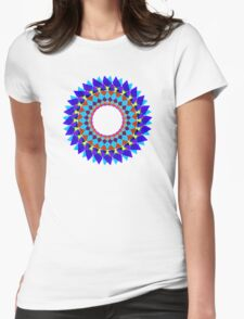 mandala . romance Womens Fitted T-Shirt