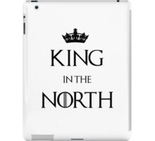 King in the North Crown iPad Case/Skin