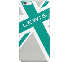 Lewis Hamilton - Team Colours iPhone Case/Skin