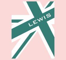Lewis Hamilton - Team Colours Kids Tee