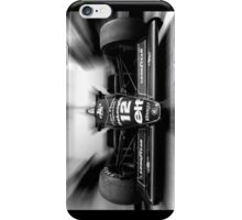 Ayrton Senna (black & white) iPhone Case/Skin