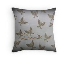 FROM A CATERPILAR TO A BUTTERFLY Throw Pillow