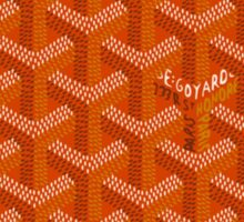 Goyard Perfect Case orange Sticker
