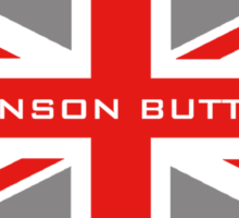 Jenson Button - Team Colours Sticker
