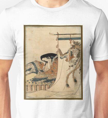 Noblewoman - Eishi Hosoda - 1801 Unisex T-Shirt