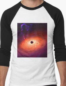 Black Hole Men's Baseball ¾ T-Shirt